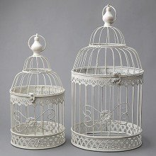 Dekoratīvi putnu būrīši, komplekts
