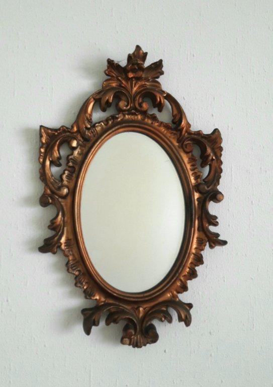 Spogulis, bronzas krāsā (mazs)  30 x 19 cm