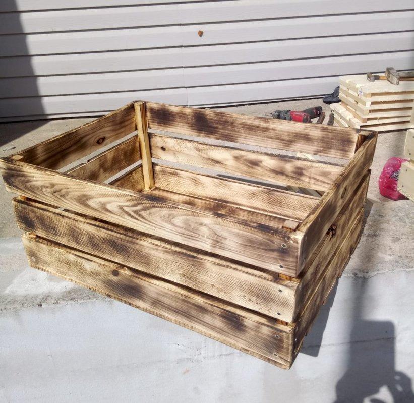 Dekoratīva koka kaste