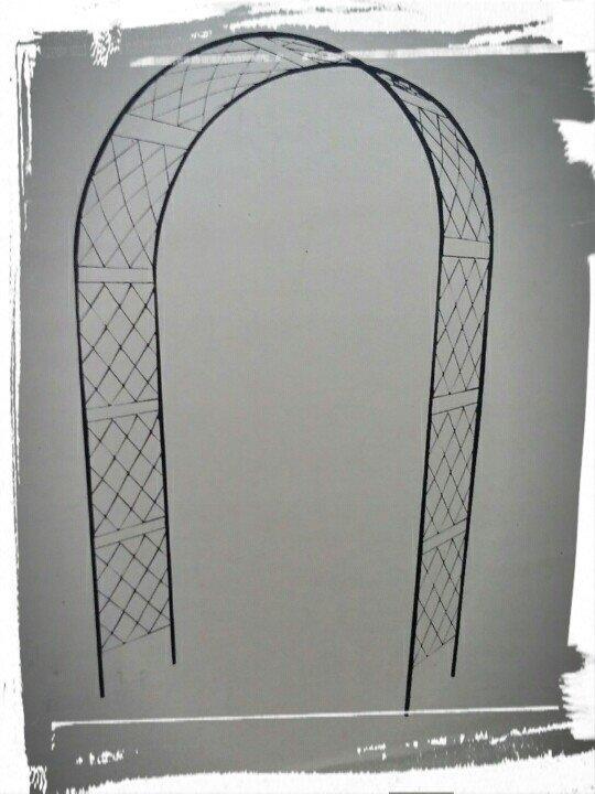 Metāla arka 2,5 x 1,4 m (bez dekorācijām)