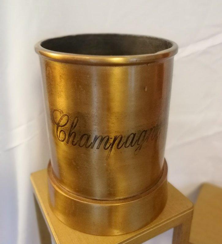 Ledus spainis šampanietim, zelts