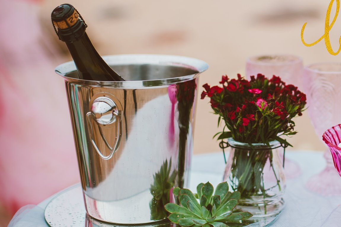 Ledus spainis šampanietim, sudrabs