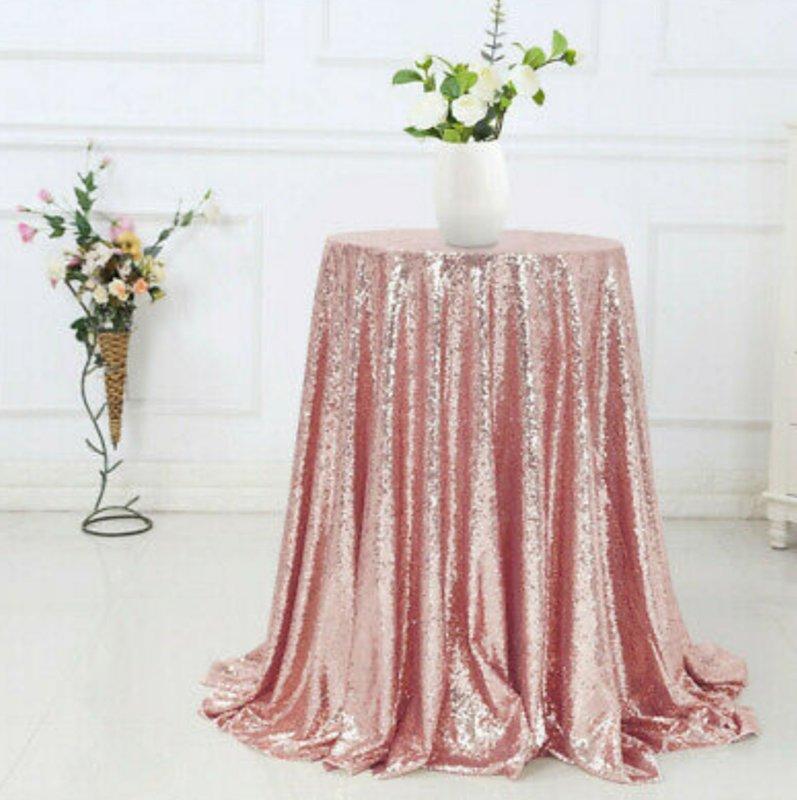 Glitera audums, rozā zelta tonī 4m