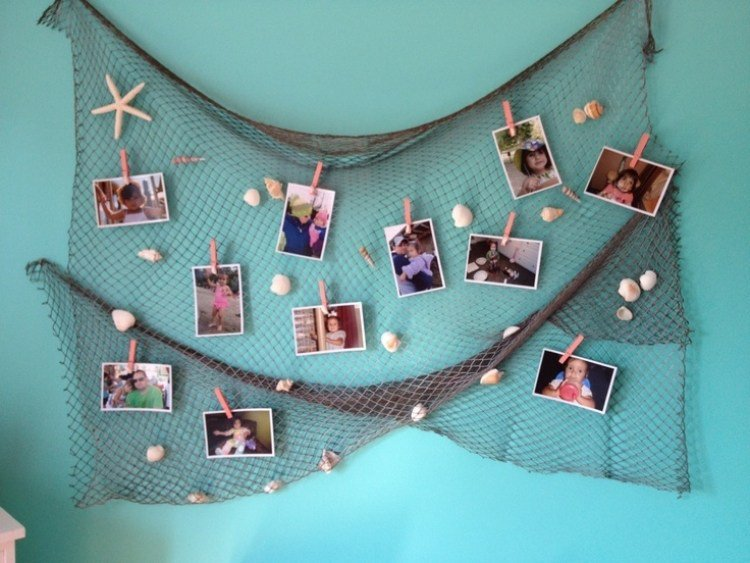 Zvejnieka tīkls dekorēšanai 4m x 2m