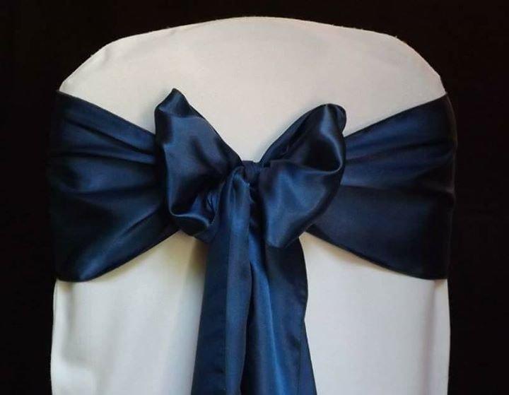 Krēslu lenta, navy blue