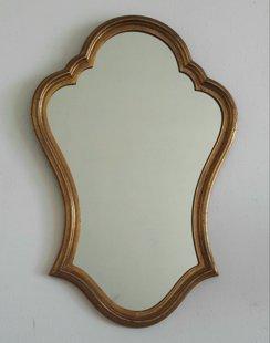Spogulis zelta krāsā 64 x 43cm