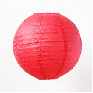 Ķīniešu laterna 30 - 40 cm, sarkana