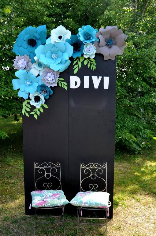 Foto siena, tāfele (bez dekoratīvajiem ziediem)