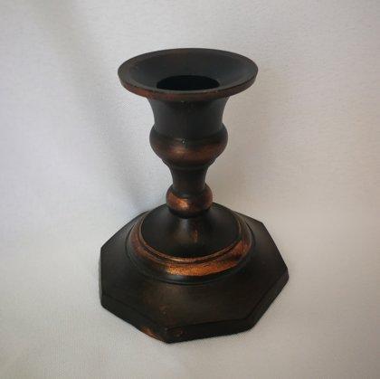 Svečturis bronzas 9cm