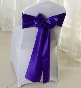 Krēsla lenta, tumši violeta